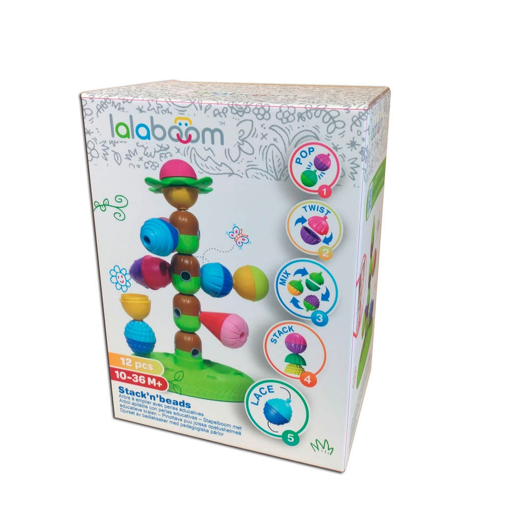 Lalaboom | Stacking Tree with 6 Beads