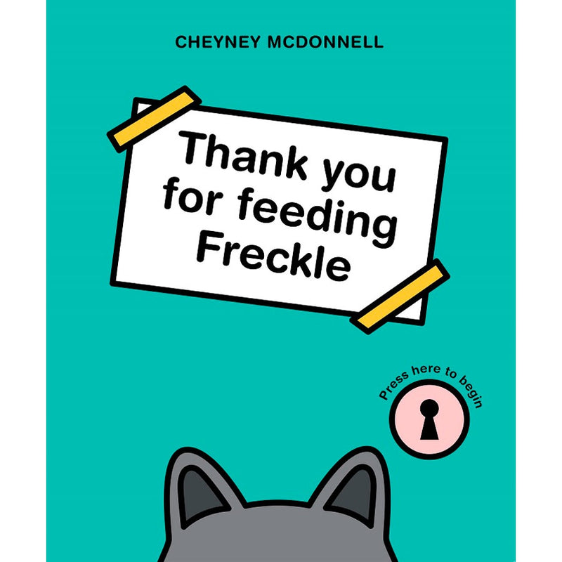 Thankyou For Feeding Freckle