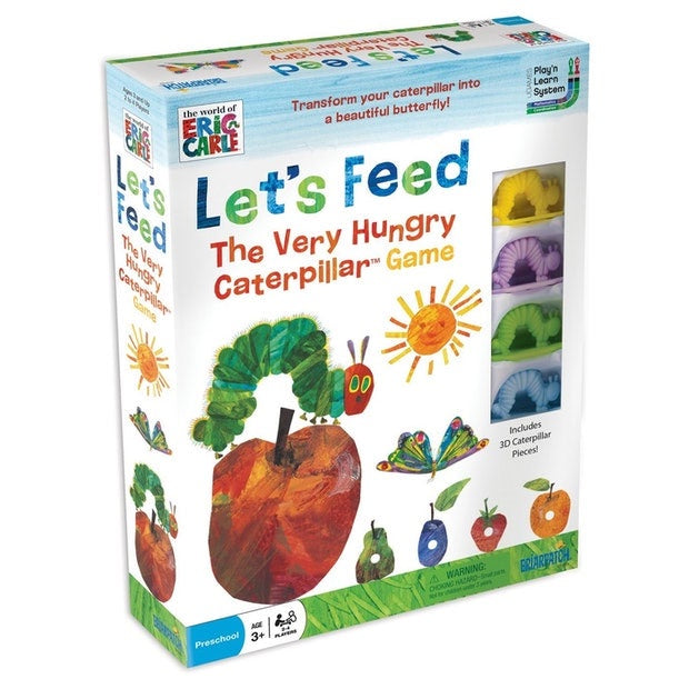 Eric Carle | Lets Feed The Very Hungry Caterpillar Game
