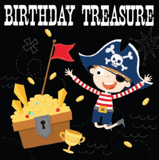 Birthday Card | Ahoy There! Treasure