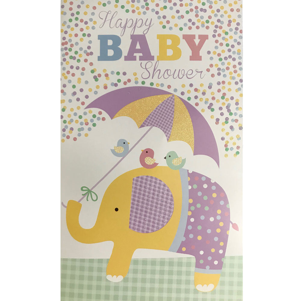 Baby Shower Card | Elephant
