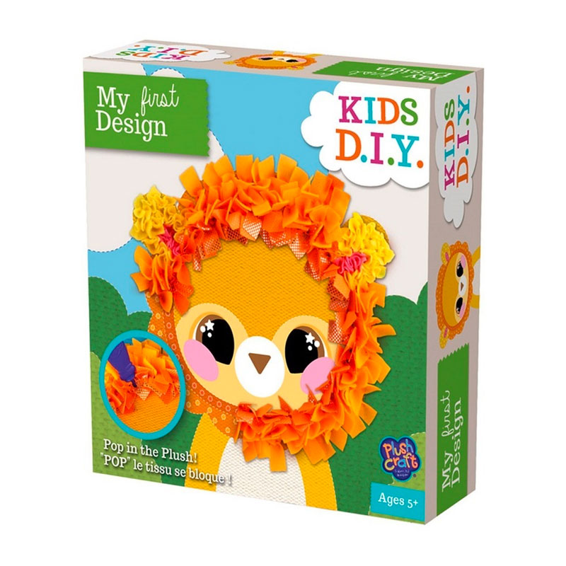 My First Design | Kids DIY - Lion