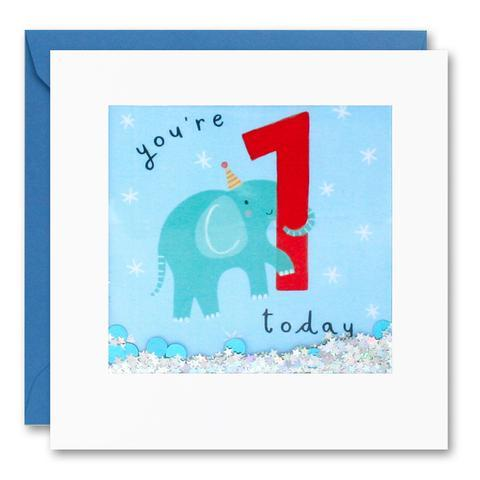 James Ellis | Birthday Cards You're 1 - Today Elephant