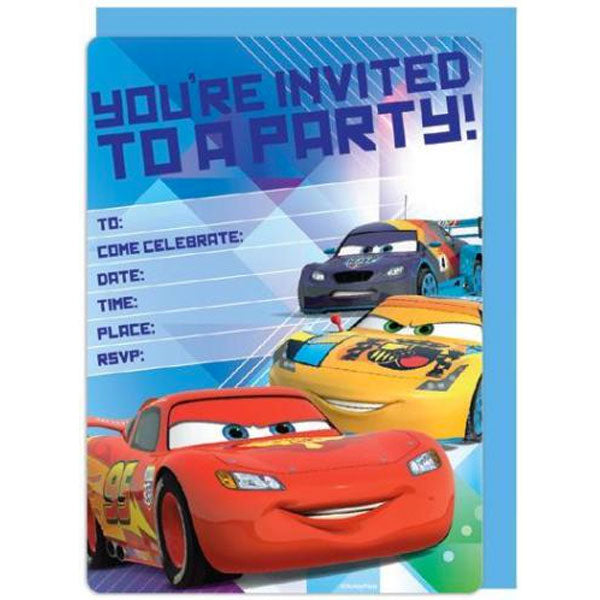 Birthday Invitations | Cars