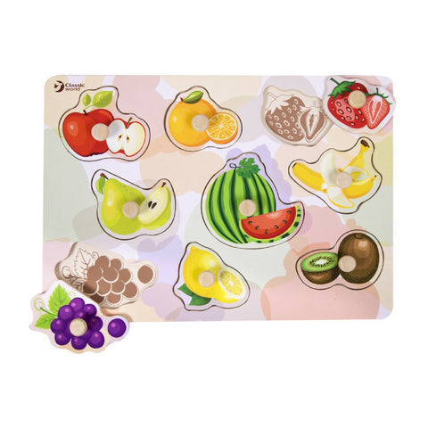 Classic World | Fruit Puzzle - 8 Piece