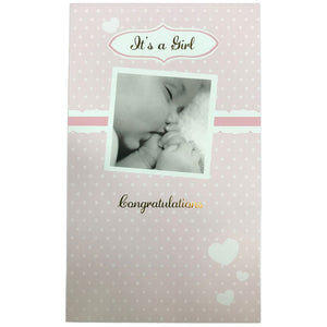 New Baby Card | Baby Girl Photo
