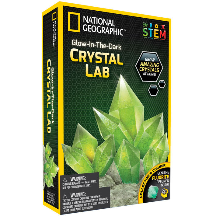 National Geographic | Crystal Lab - Glow In The Dark