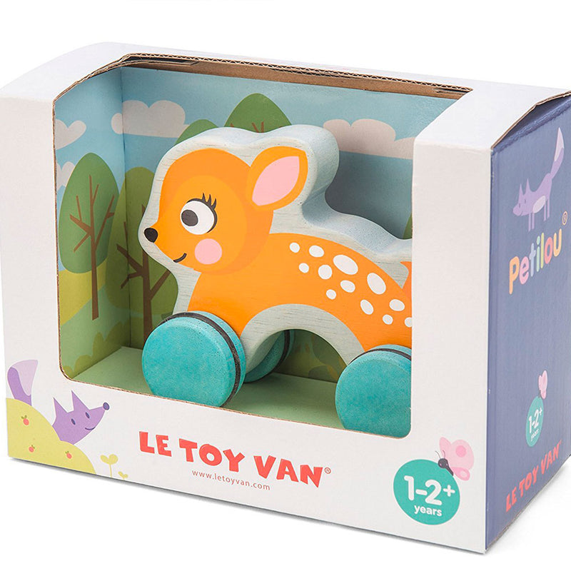Le Toy Van | Petilou - Dotty Deer On Wheels