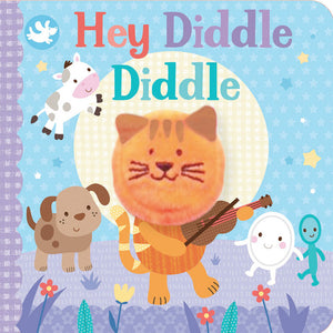 Little Me | Finger Puppet Book - Hey Diddle Diddle