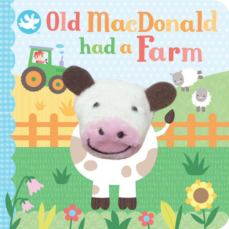 Little Me | Finger Puppet Book - Old MacDonald Had A Farm