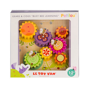 "Le Toy Van | Gears And Cogs ""Busy Bee Learning"""