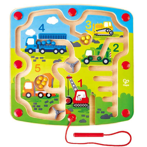 Hape | Construction & Number Magnetic Maze