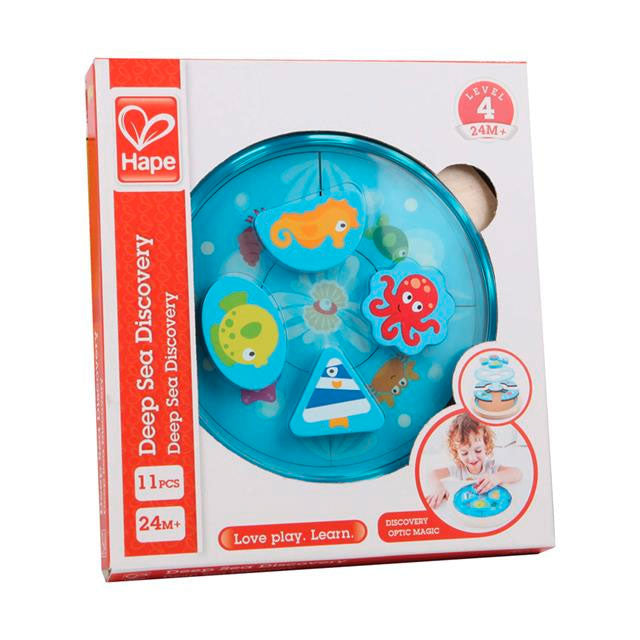 Hape | 11 Piece Wooden Puzzle - Deep Sea Discovery