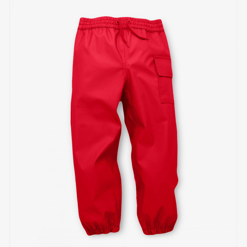 Hatley | Red Waterproof Splash Pants