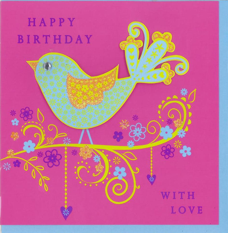 Birthday Cards | Hot Candy - Bird