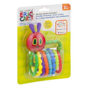 World Of Eric Carle | Rattle Teether with Links
