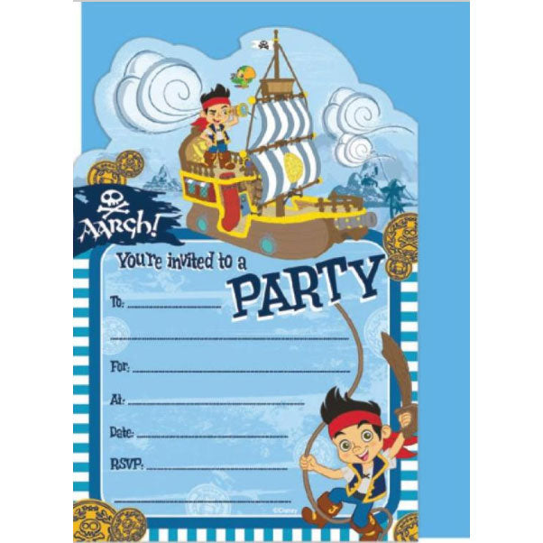 Birthday Invitations | Jake