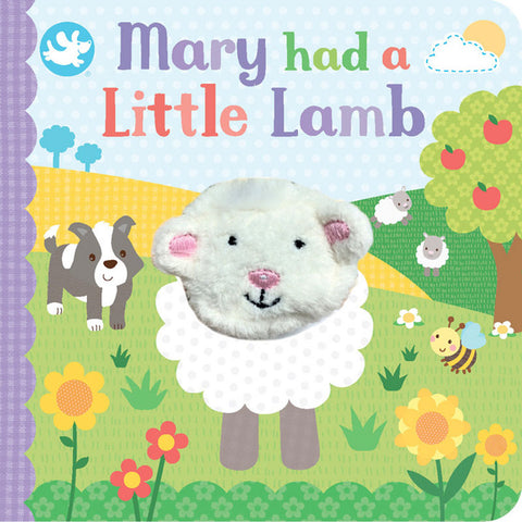 Little Me Finger Puppet Book | Mary Had A Little Lamb