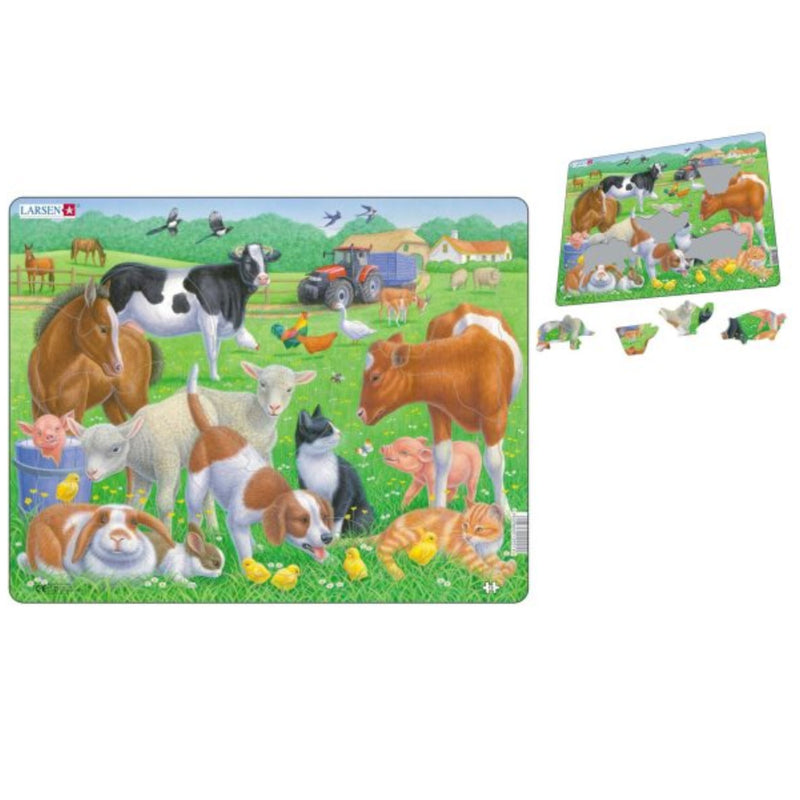 Larsen | Pets & Farm Animals Puzzle
