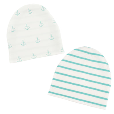 Lil Zippers | Reversible Beanie - Mint
