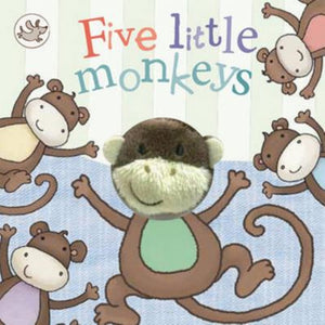 Little Me | Finger Puppet Book - Hickory Dickory Dock