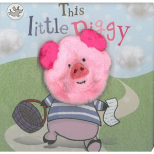 Little Me | Finger Puppet Book - Muddy Paws Busy Day