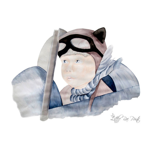Little Rae Prints | Little Pilot - 50cm x 70cm Print