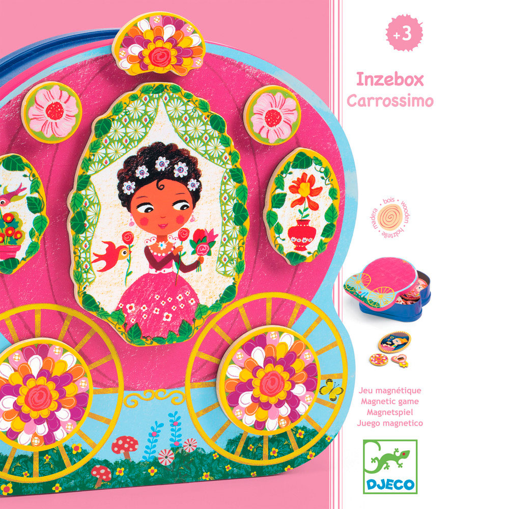 DJECO | Magnetic Game - Princesses
