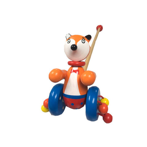 Push Along Toy - Fox