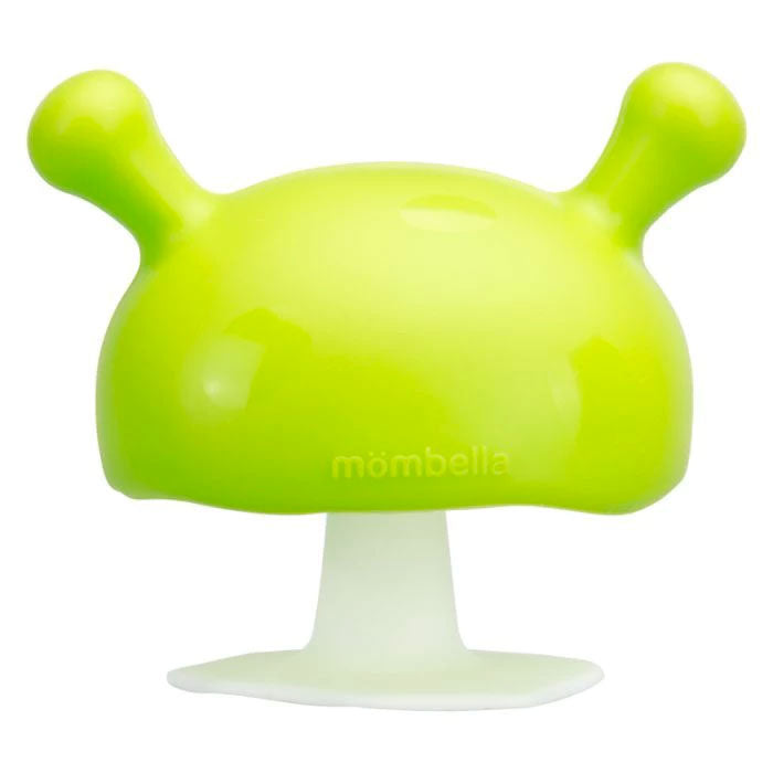 Mombella | Mushroom Soothing Teether- Green