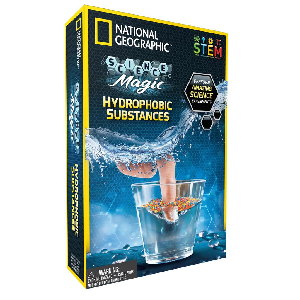 National Geographic | Hydrophobic Substances