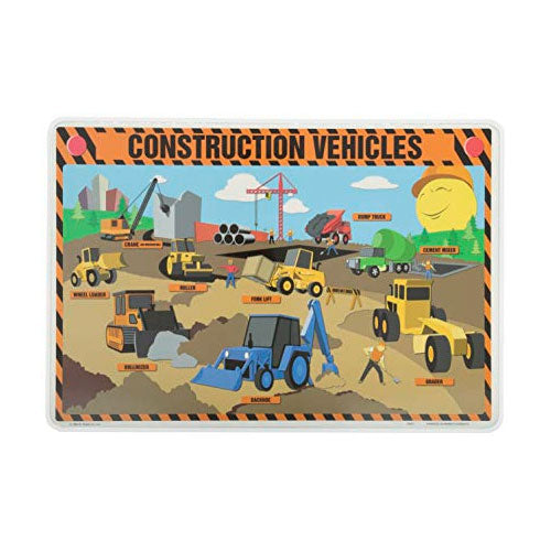 Learning Placemat | Construction