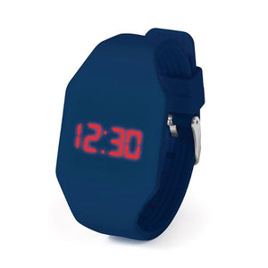 IS Gifts | Push It LED Watch - Dark Blue