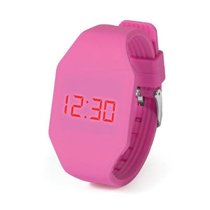 IS Gifts | Push It LED Watch - Dark Pink