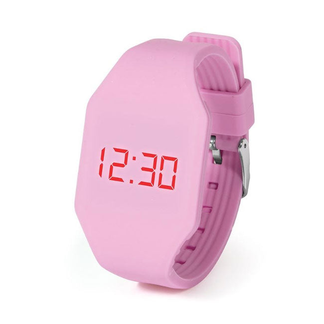 IS Gifts | Push It LED Watch - Light Pink