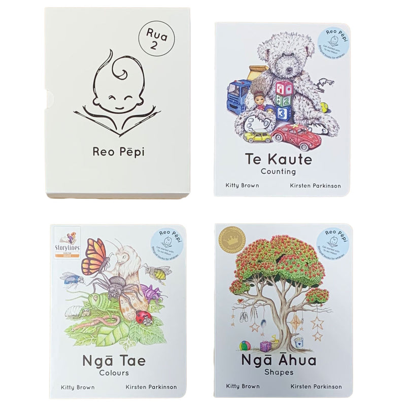 Te Reo Childrens 3 Book Set | Rua - Series 2