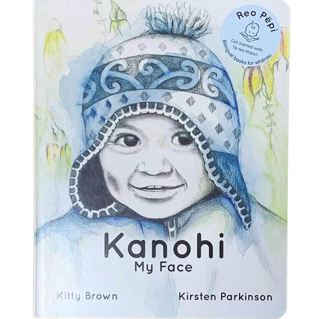 Te Reo Childrens Book | Kanohi - My Face