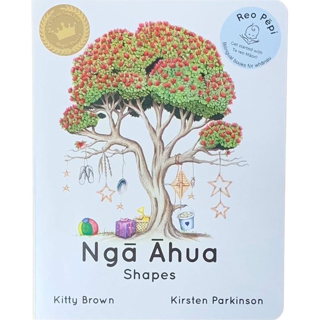 Te Reo Childrens Book | Nga Ahua - Shapes