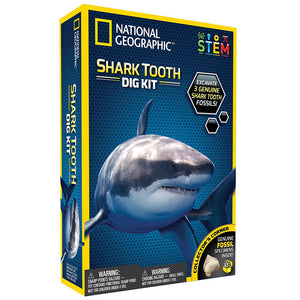 National Geographic | Shark Tooth Dig Kit