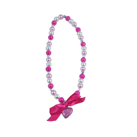 Pink Poppy | Sparkle Princess Necklace