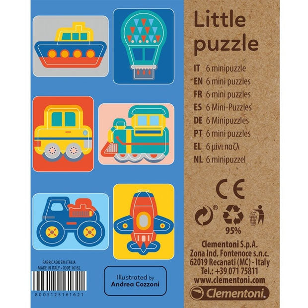 Clementoni | Little Puzzle - Transport