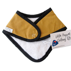 Little Poppet | Dribble Bib - Fire