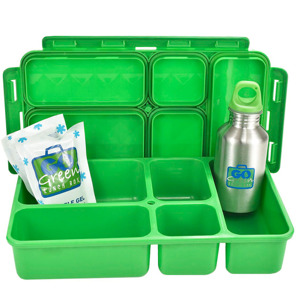 Go Green | Insulated Lunch Set - Jurassic Party