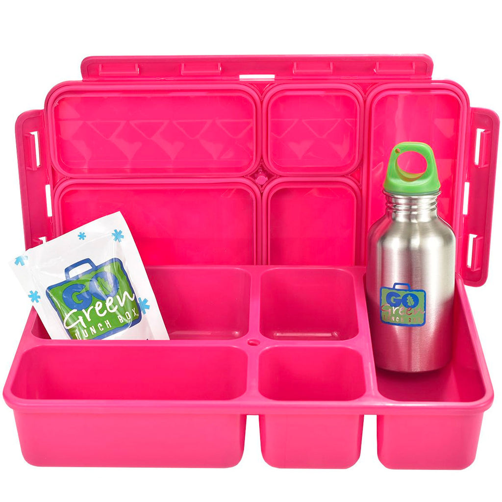 Go Green | Insulated Lunch Set- Seahorse