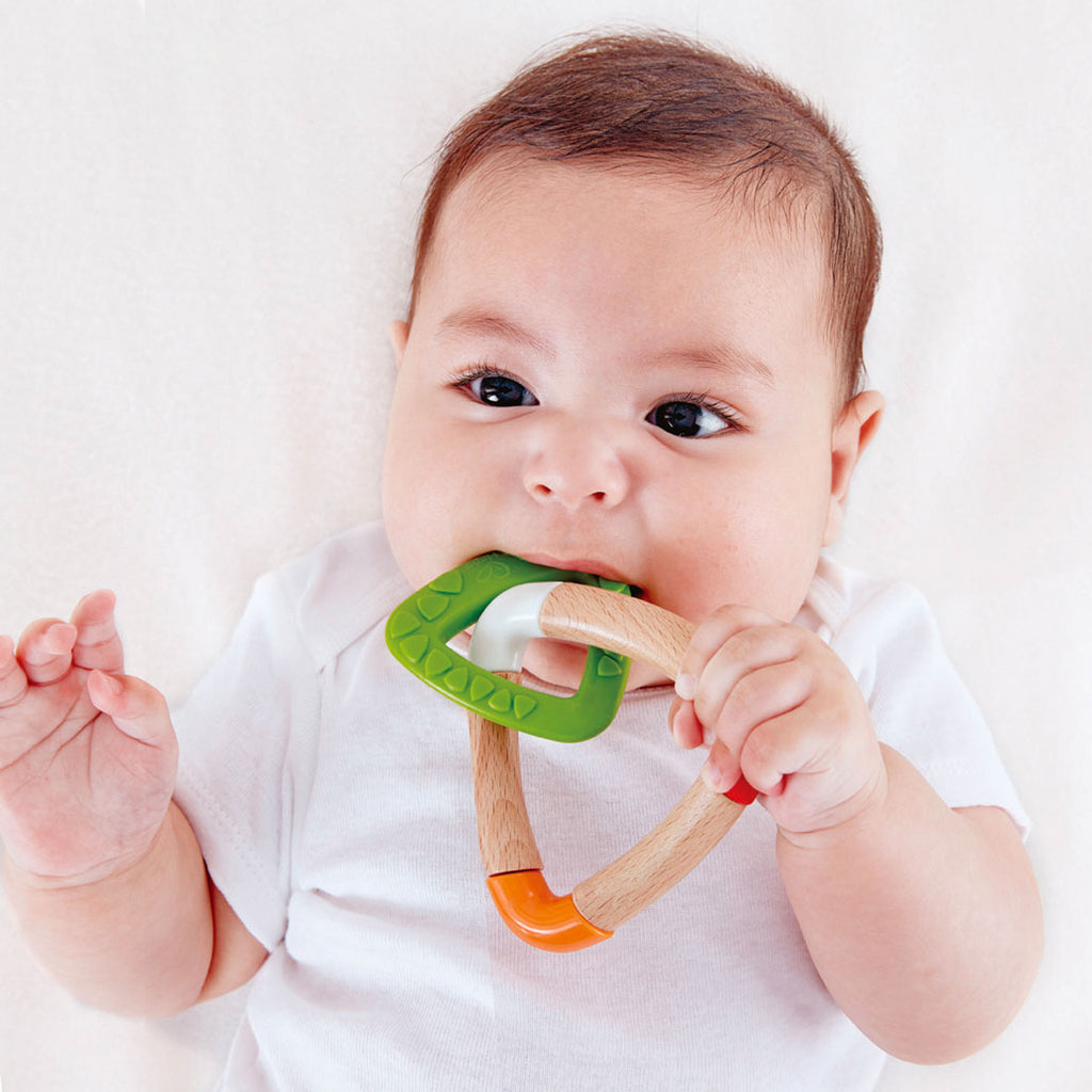 Hape | Double Triangle Teether