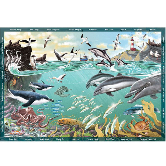 Holdson | Seek & Find 300 XL Piece Puzzle - The Ocean