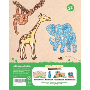 Honey Sticks | Toddler's First Colouring Book - Endangered Animals Adventure