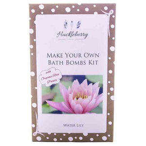 Huckleberry | Make Your Own Bath Bombs - Water Lily