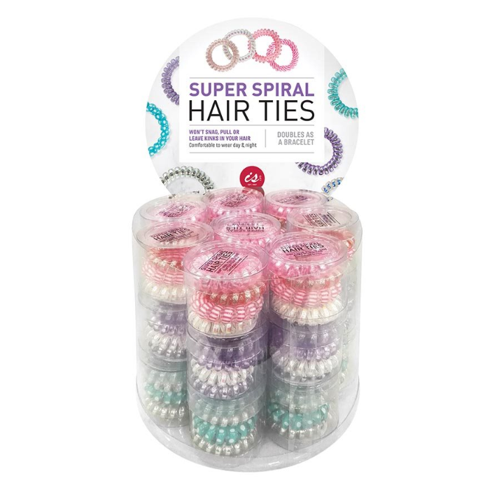IS Gifts | Super Spiral Hair Ties