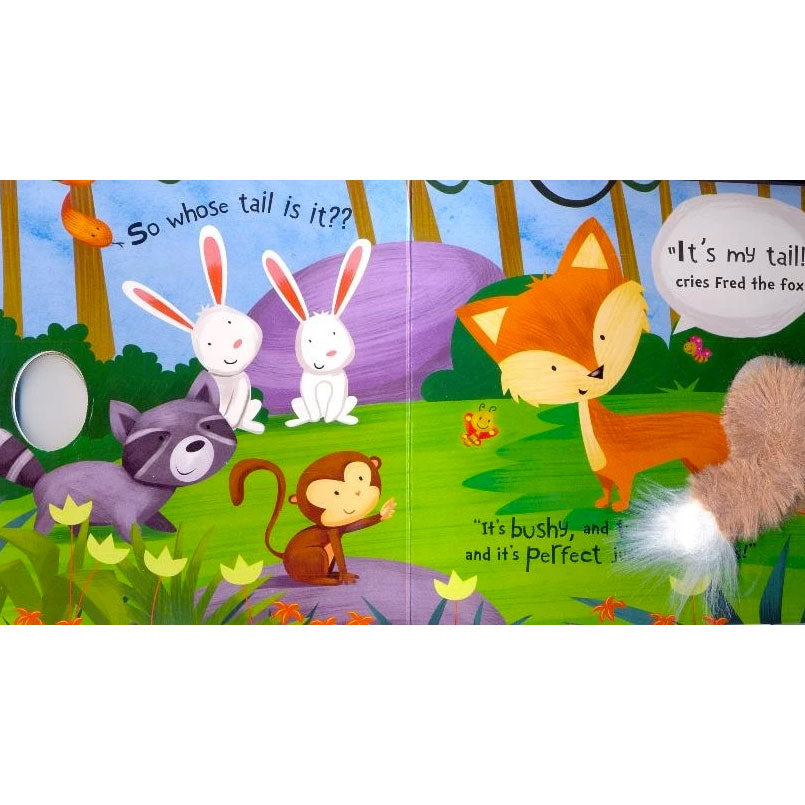 Is that My Tail? | In The Forest - Plush Board Book